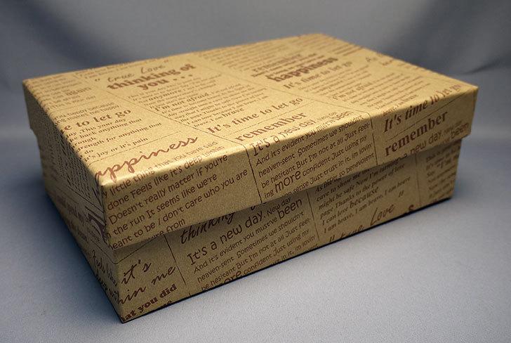 ダイソーで、英字クラフト紙BOXを買って来た1.jpg