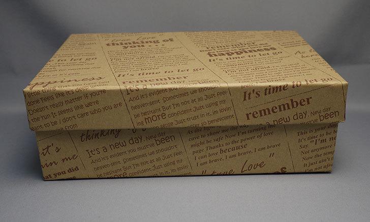 ダイソーで、英字クラフト紙BOXを買って来た2.jpg