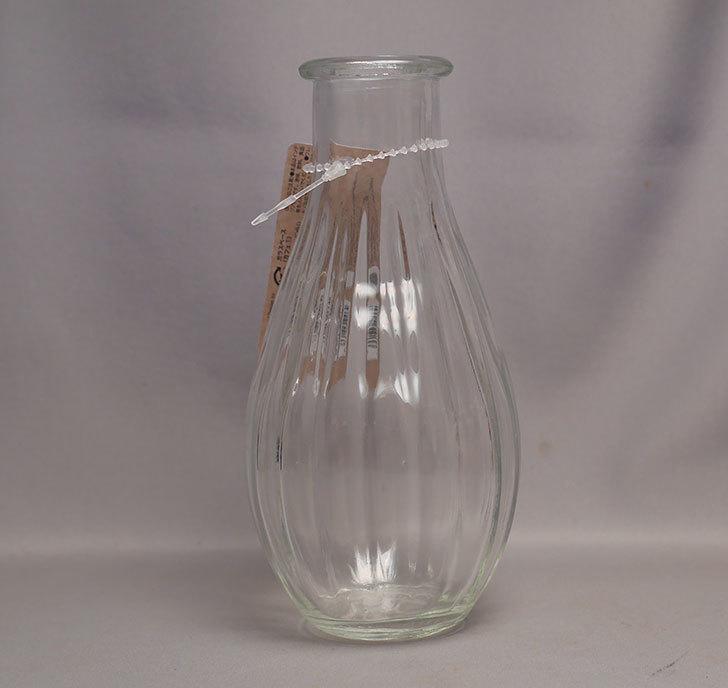 ダイソーでガラスベース(カフェ①)G-097-インテリア花瓶-NO1を買って来た2.jpg