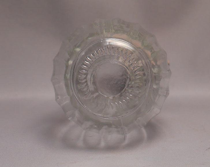 ダイソーでガラスベース(カフェ①)G-097-インテリア花瓶-NO1を買って来た4.jpg