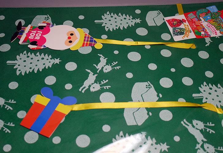 ダイソーでクリスマス不織布巾着バッグLL-G-039を買って来た2.jpg