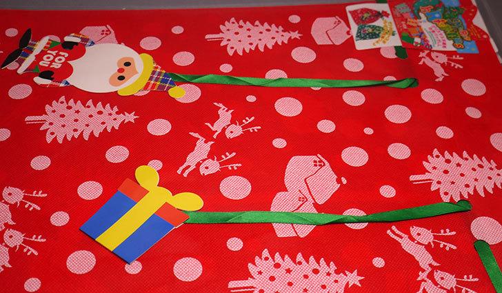 ダイソーでクリスマス不織布巾着バッグLL-G-039を買って来た4.jpg