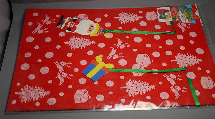 ダイソーでクリスマス不織布巾着バッグLL-G-039を買って来た5.jpg