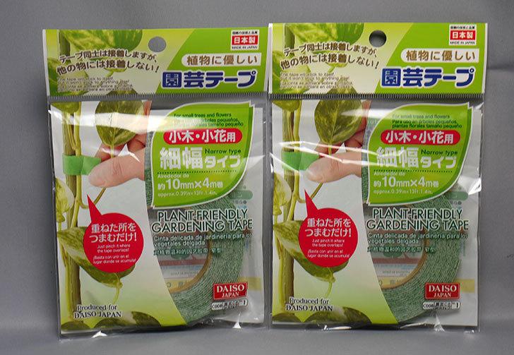 ダイソーで園芸テープ-細幅タイプ10mm×4mを2個買ってきた1.jpg