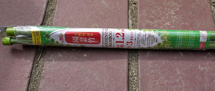 ダイソーで天然竹使用園芸竹-1.2m×3本セットを買って来た3.jpg
