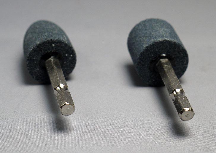 ダイソーで強電動ドリル-軸付砥石を買って来た6.jpg