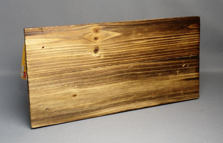 ダイソーで焼杉テーブル型花台を買って来た3.jpg