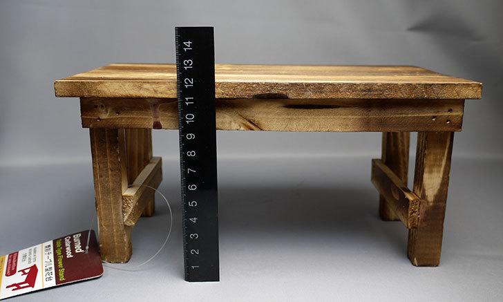 ダイソーで焼杉テーブル型花台を買って来た6.jpg