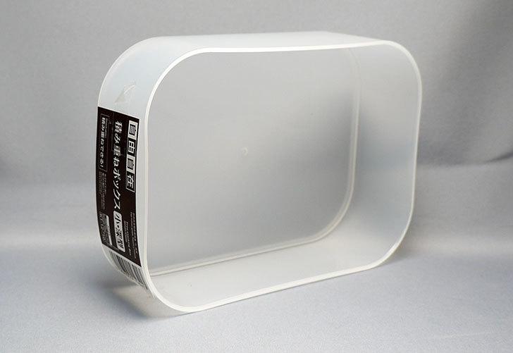 ダイソーで自由自在-積み重ねボックス-小・深型を4個買ってきた4.jpg