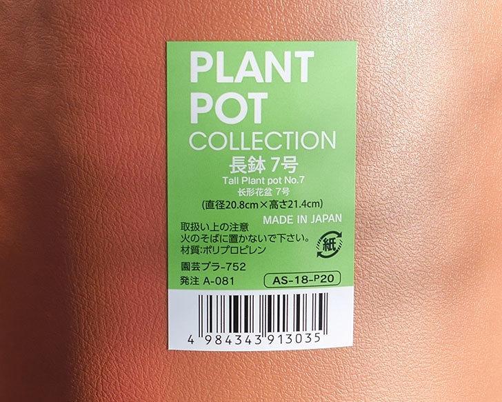 ダイソーでPLANT-POT-COLLECTIO-長鉢7号を14個買って来た5.jpg