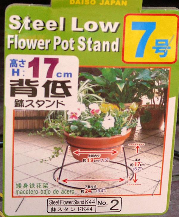 ダイソーでSteel-Low-Flower-Stand-5号、6号、7号を買って来た7.jpg