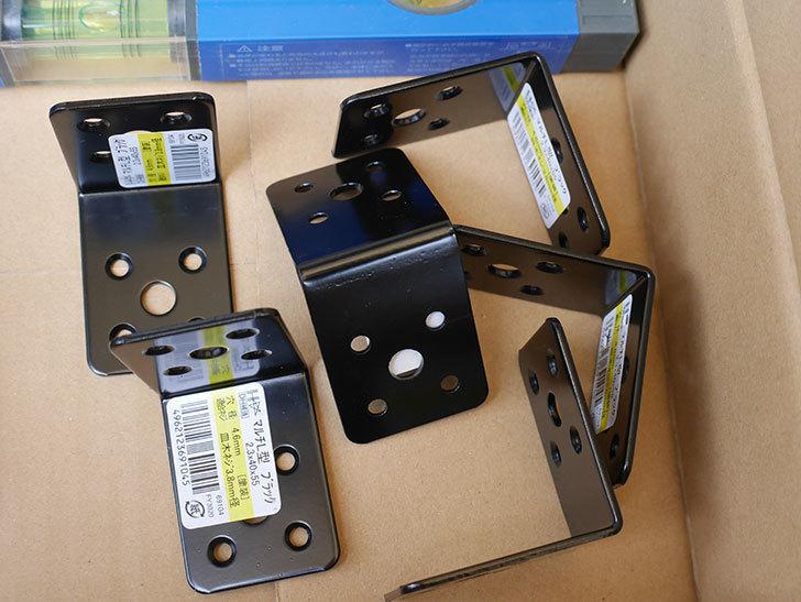 ダイドーハント マルチ金物 L型 69104 2.3×40×55×55を6個買った。2020年-001.jpg