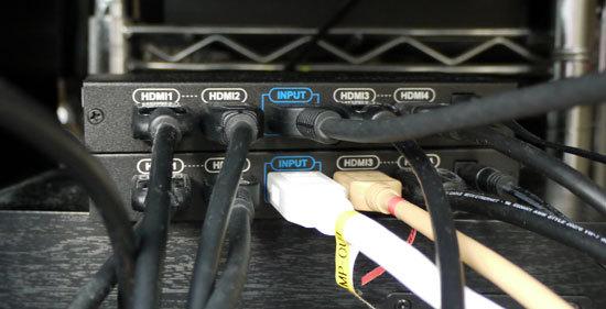 テック HDMI分配器 THDSP14 3設置1.jpg