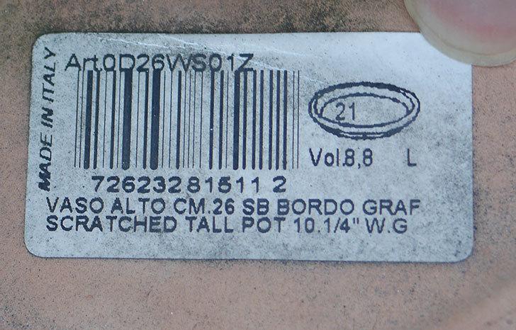 デローマ-アルト(VASA-ALTO-CM.26-SB-Art.-0D26WS01Z)26cmがコーナンで324円だったので2個買ってきた5.jpg