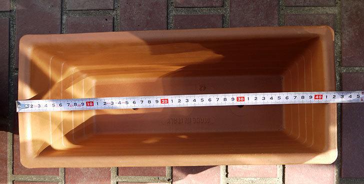デローマ-ローマンウィンドウボックス(DEROMA-CASS.ROMA-Art.10420SE)42cmをケイヨーデイツーで買って来た5.jpg