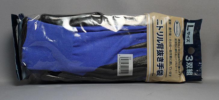 ニトリル背抜き手袋-3双組をケイヨーデイツーで買って来た2.jpg
