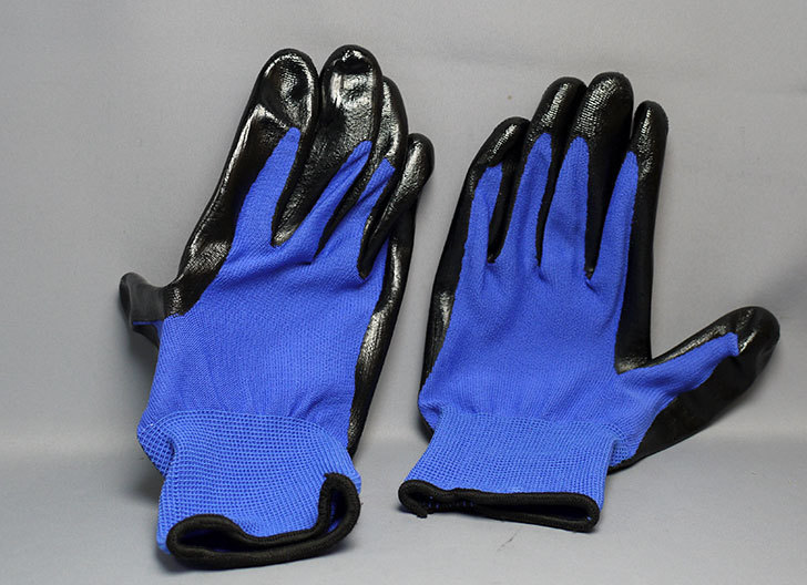 ニトリル背抜き手袋-3双組をケイヨーデイツーで買って来た4.jpg
