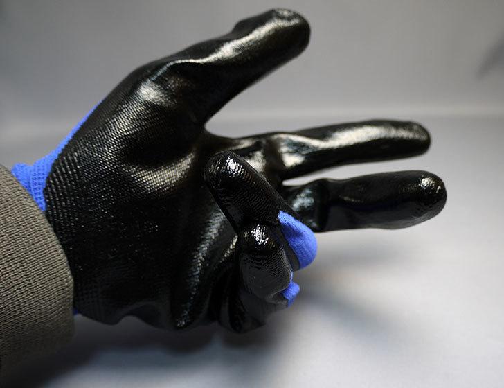 ニトリル背抜き手袋-3双組をケイヨーデイツーで買って来た9.jpg
