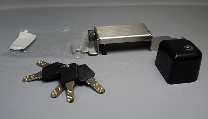 ノムラテック-ドアロックガードディンプル-キータイプ-ブラックN-2426を買った1.jpg