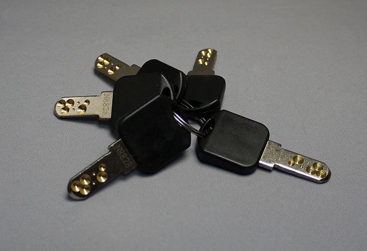 ノムラテック-ドアロックガードディンプル-キータイプ-ブラックN-2426を買った6.jpg
