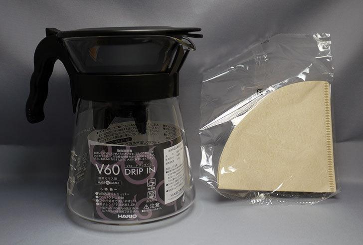 ハリオ-V60-ドリップイン-VDI-02Bがamazonアウトレットに有ったので買った6.jpg