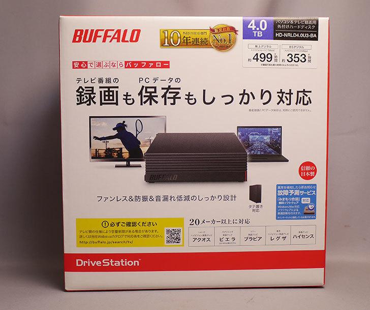 バッファロー-HD-NRLD4.0U3-BA-4TB-外付けハードディスクドライブを買った1.jpg