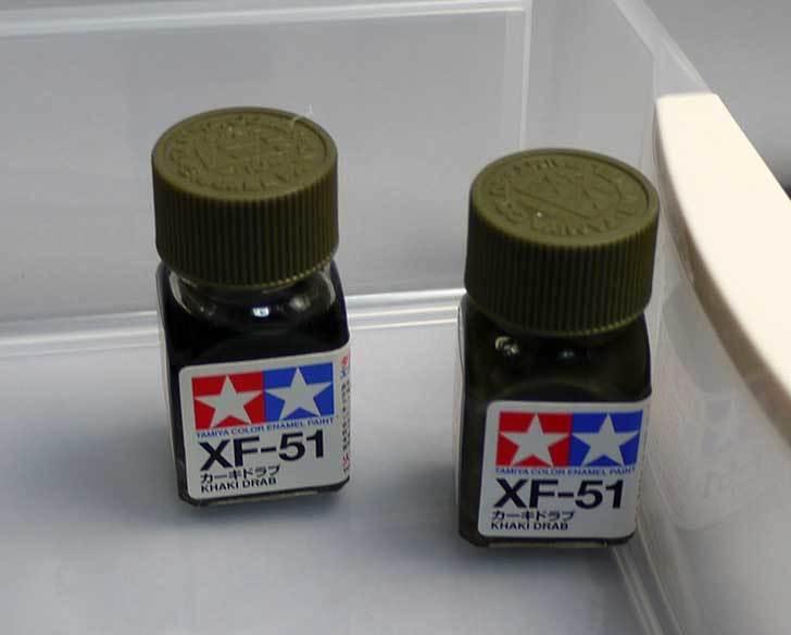 バラライカの迷彩塗装用にタミヤのエナメル塗料をヨドバシで買って来た3.jpg