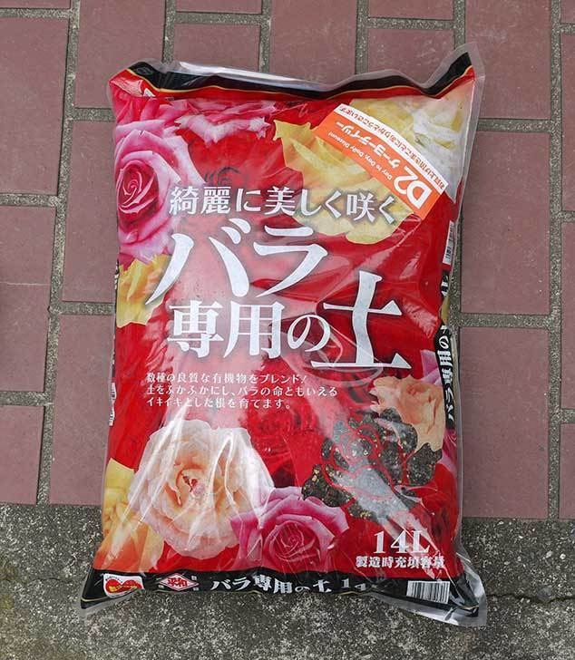 バラ専用の土14Lをケイヨーデイツーで買って来た1.jpg
