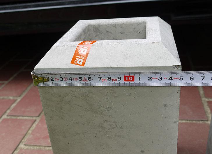 フェンスブロック-ミニをケイヨーデイツーで6個買って来た3.jpg