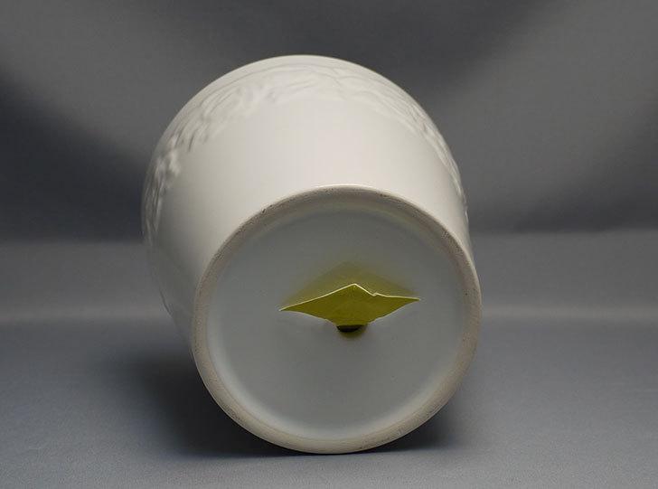 フラワーレリーフ植木鉢-花盆-陶器植木鉢L174を2個買って来た4.jpg