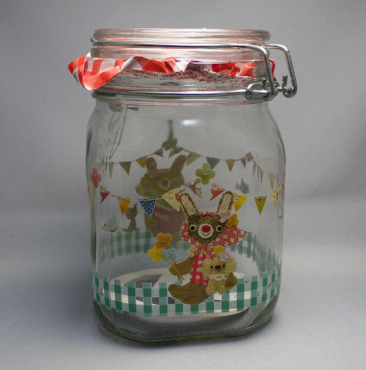ホームズで密封できる保存瓶をを買って来た1.jpg