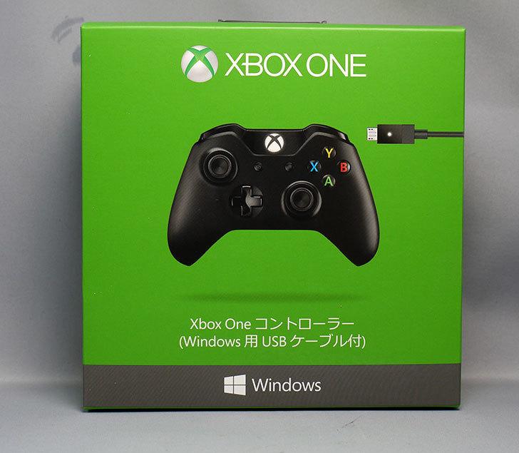 マイクロソフト-ゲームコントローラー-ブラック-7MN-00005を買った1.jpg