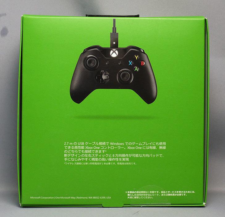 マイクロソフト-ゲームコントローラー-ブラック-7MN-00005を買った2.jpg