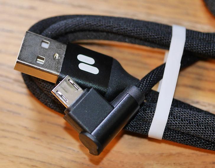 マイクロUSBケーブルl字-90度-PURIDEA-(黒-1m×3本)を買った2.jpg