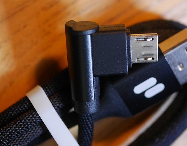 マイクロUSBケーブルl字-90度-PURIDEA-(黒-1m×3本)を買った5.jpg