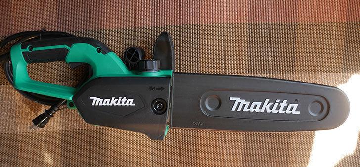 マキタ(Makita)-電気チェンソー-ガイドバー250mm-緑-AC100V-コード2m-M502を買った6.jpg