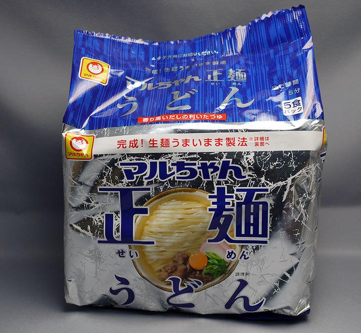 マルちゃん正麺-うどん-5食パックが284円で売っていたので買って来た1.jpg