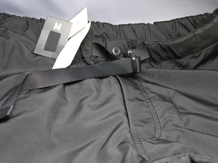 ユニクロでウォームイージーカーゴパンツ黒を買って来た5.jpg