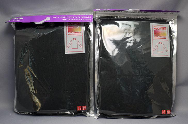 ユニクロでヒートテックタートルネックT(長袖)黒を2枚買った3.jpg
