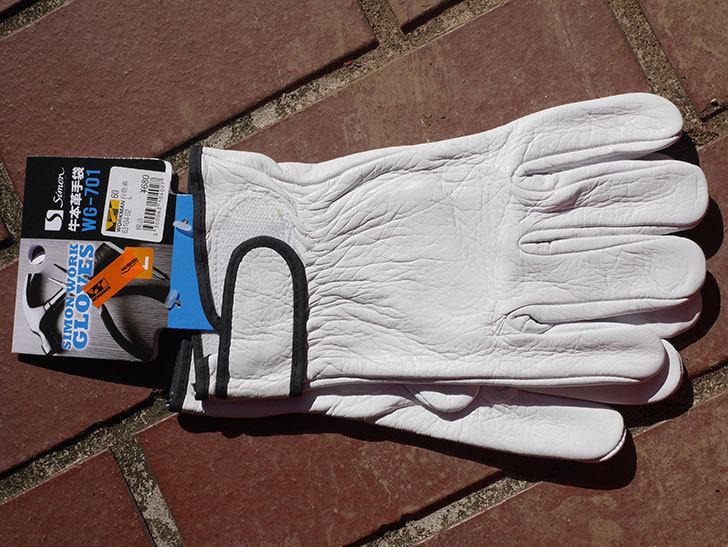 ワークマンでツルバラの誘引用に牛本革手袋 WG-701を買ってきた。2021年-012.jpg