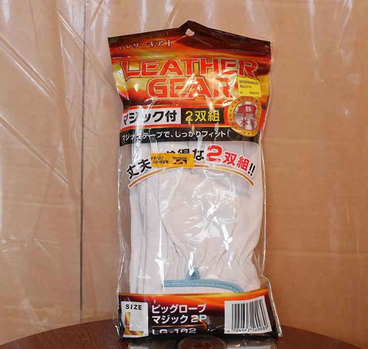 ワークマンでレーザーギア ピッグローブマジック-2P-LG-102をまた買ってきた1.jpg
