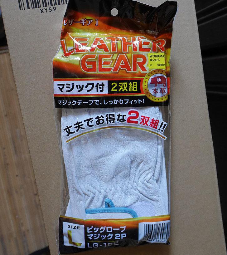 ワークマンでレーザーギア ピッグローブマジック-2P-LG-102を買ってきた2.jpg