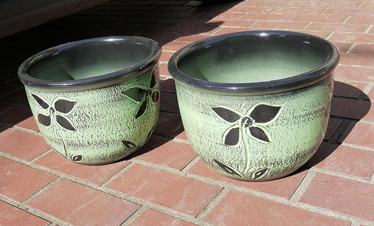 不二貿易-スペイン素焼き鉢-84466が届いた1.jpg