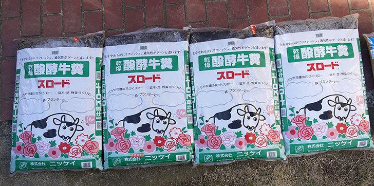 乾燥醗酵牛糞スロードをケイヨーデイツーで買って来た1.jpg