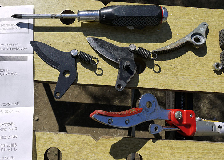 伸縮式高枝鋏ズ―ムチョキKタイプ-アンビルタイプ-つかみ付替刃-184-2を取り付けた8.jpg
