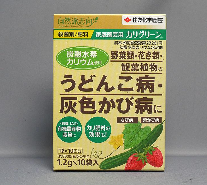 住友化学園芸-カリグリーン-1.2g×10を買った1.jpg