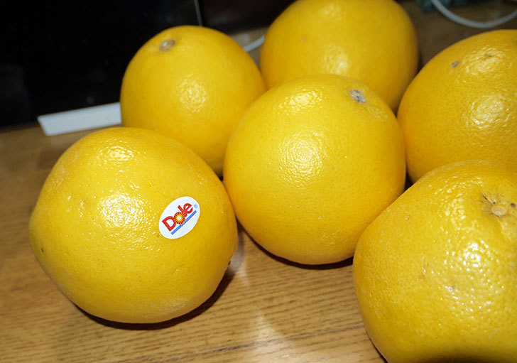 南アフリカ産のグレープフルーツを6個250円で買ってきた2.jpg
