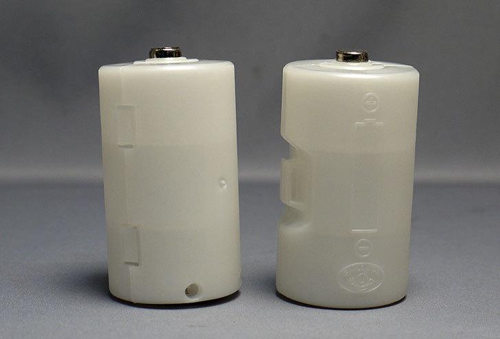 単3が単1になる電池アダプター、旭電機化成-ADC310PWを買った5.jpg