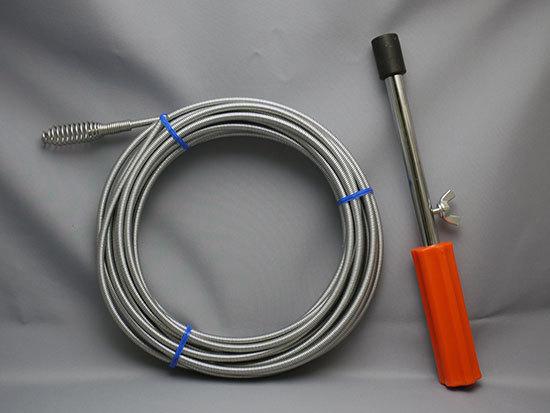台所の排水詰まりを直すために、カクダイ-パイプクリーナー(10m)6051を追加購入した1.jpg