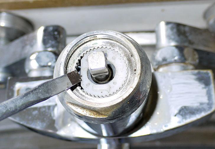 台所の混合栓、TOTO-TKG30URXが水漏れ11.jpg